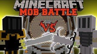 getlinkyoutube.com-Elite Black Knight Vs. White Knight Hero - Minecraft Mob Battles - Scapecraft Mod Battle