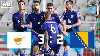 Cyprus vs Bosnia Herzegovina 3-2 World Cup Qualifiers All Goals and Highlights August 31,2017