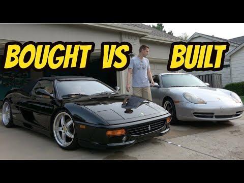 Porsche 996 and Ferrari F355