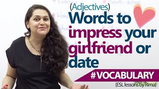 getlinkyoutube.com-English lessons - Words to impress your girlfriend or date. (Learn English Vocabulary)