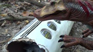 getlinkyoutube.com-Jurassic Park 3 Toy Movie