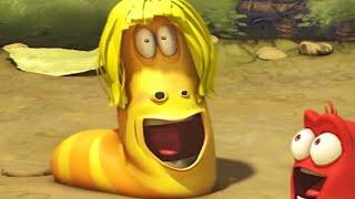 LARVA - LARVA HAIR | Cartoon Movie | Cartoons For Children | Larva Cartoon | LARVA Official