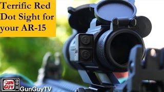 getlinkyoutube.com-A terrific mid-priced red dot sight for your AR-15