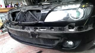 getlinkyoutube.com-Angel eye bulb replacement E65 E66 7 series BMW