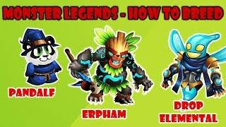 getlinkyoutube.com-Monster Legends - How to breed Drop Elemental + Pandalf