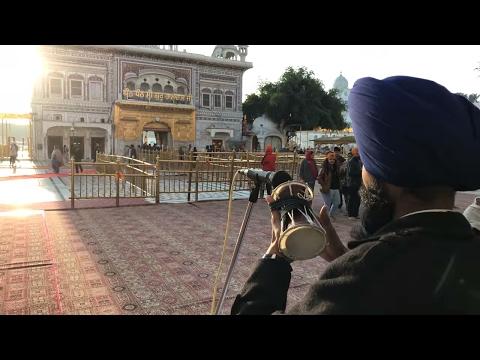Dhadi Kirtan Jatha at Akal Takhat (Harmandir Sahib) - Amritsar, India  (Part 1)