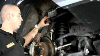 getlinkyoutube.com-How to install 2005+ Toyota Hilux suspension installation - Tough Dog 40mm lift kit