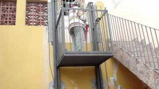 Download video attic elevator Home elevator kits