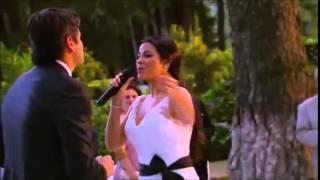 getlinkyoutube.com-Maite Perroni canta 'Todo lo que Soy' en #LaGata (Boda Esmeralda y Pablo)