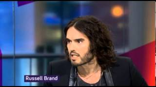 "getlinkyoutube.com-Russell Brand to Channel 4's Jon Snow; ""Listen you, Let me Talk"""