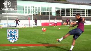England U21 shooting practice | Inside Training