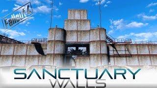 Fallout 4 - Sanctuary Walls (NO MODS)