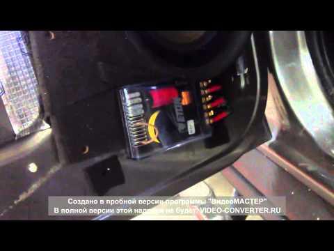 Hummer h2 установка акустики и шумоизоляция