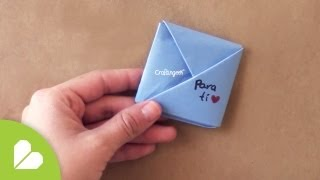 getlinkyoutube.com-Cuadrito Pocket - Doblando Cartas EXPRESS