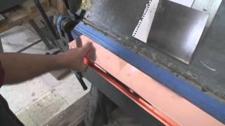 getlinkyoutube.com-How to Bend Copper Chimney Flashing