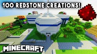 getlinkyoutube.com-INCREDIBLE REDSTONE HOUSE (w/ 100+ Redstone Mechanisms/Redstone Creations) - PART 1