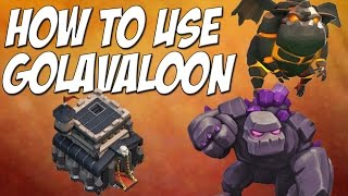 getlinkyoutube.com-Clash of Clans: How To Golavaloon Attack Strategy TH9 - 3 Star Tutorial