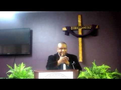(Part 1) Pastor Graham of CCF @ Beth-El North COGIC- Kingston