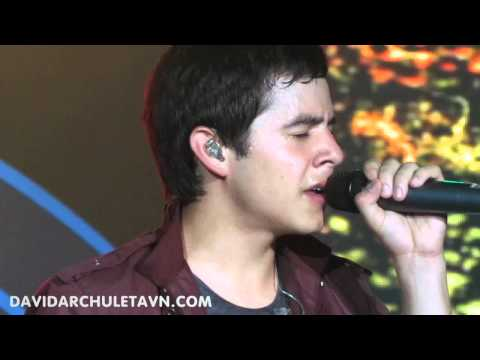 14- Heaven (Encore)- David Archuleta Live in Hanoi- Vietnam- 7-24-2011
