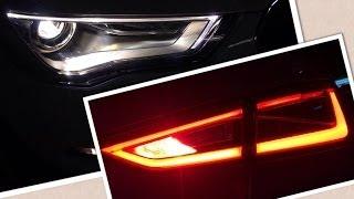 getlinkyoutube.com-Audi A3 Sedan 1.4 TFSI CODが納車されたよ〜夜のエクステリア、インテリアにうっとりですヽ(´ρ`)ノ