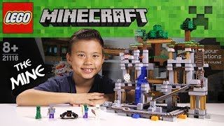 getlinkyoutube.com-LEGO MINECRAFT - Set 21118 THE MINE - Unboxing, Review, Time-Lapse Build [EvanTubeHD CLASSIC WEEK]