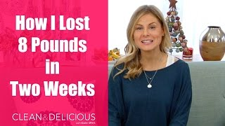 How I Lost 8 Pounds in Two Weeks   Clean & Delicious