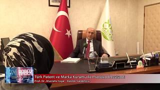 Türk Patent ve Marka Kurumu ile protokol imzalandı