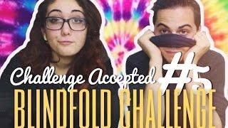 getlinkyoutube.com-Challenge Accepted #5 BLINDFOLD CHALLENGE (with Gabriele Magnolfi) - Martina Fabrizio