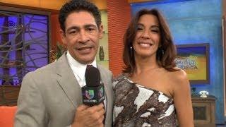 getlinkyoutube.com-Johnny Lozada presentó a su amada esposa, Sandy - Despierta America