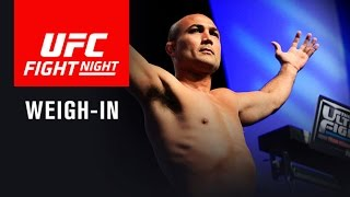 UFC Fight Night Phoenix: Official Weigh-in