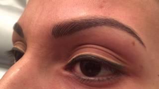 getlinkyoutube.com-Taller de Diseño en cejas y Técnica de pelo a pelo para Latinas