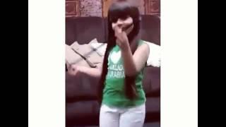 getlinkyoutube.com-رقص راما الخالدي | اليوم الوطني 💚 😍