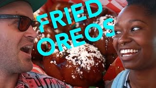 getlinkyoutube.com-Fried Fair Food Telephone • Feast Mode Hunger Squad
