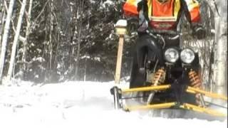 getlinkyoutube.com-My Sled - Building a snow machine from scratch