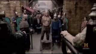 Vikings 3x09 Hold My Hair Hand Chop  HD