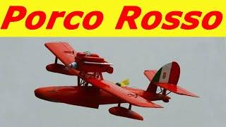 getlinkyoutube.com-Porco Rosso's plane  紅の豚サボイア S.21