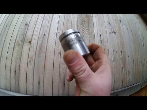 Замена поршня заднего тормозного цилиндра HONDA.
