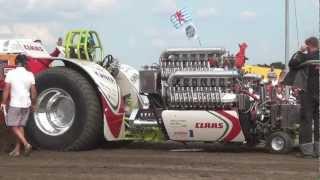 getlinkyoutube.com-Green Monster + Fighter @ Tractor Pulling Edewecht 2012 by MrJo