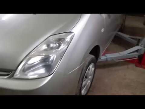 Toyota Prius 20. Замена переднего подшипника ступицы, оригинал (Koyo).