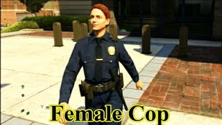gta v how to play as a cop