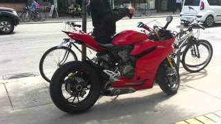 getlinkyoutube.com-Ducati 1199 Panigale S - Spotted In Toronto