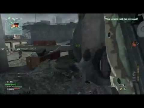 MW3 Gameplay sniping and juggernaut recon killstreak
