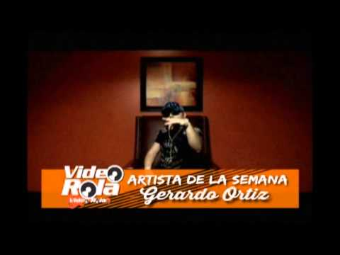 Gerardo Ortiz Artista de la semana de Video Rola 02