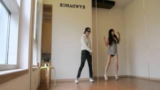 getlinkyoutube.com-남자 여자 클럽춤 배우기 같은춤 다른느낌