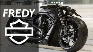 getlinkyoutube.com-Harley Davidson Night Rod Special by FREDY | Motorcycle Muscle Custom