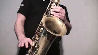 Johnny B Goode - Saxophone Music & Backing Track Download