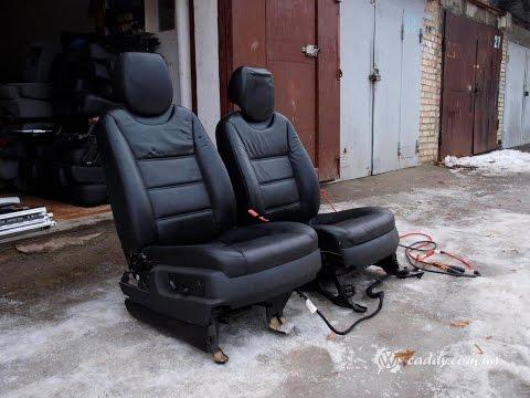 PRC-1 - Porsche Cayenne - передние кожаные сиденья