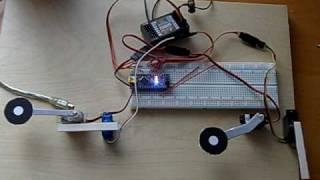 getlinkyoutube.com-DC-6 Arduino Gear Door Sequencer Mockup