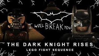 getlinkyoutube.com-The Dark Knight Rises: Lego Fight Sequence (Official Video)