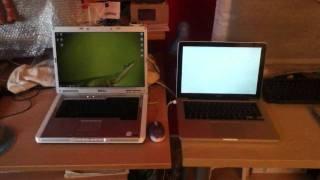 getlinkyoutube.com-Dell Inspiron 6400 (2006) BEATS Apple MacBook Unibody (2008)